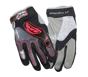Перчатки JT Full Finger Paintball Gloves - Red