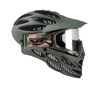 Маска термальная  Jt Flex 8 Full Coverage Paintball Mask, Olive
