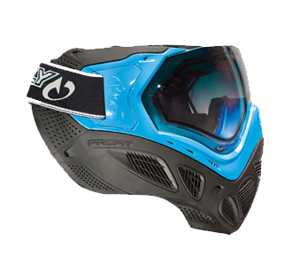 Маска термальная  Sly Paintball Mask Profit Series, Neon Blue