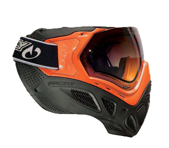 Маска термальная Sly Paintball Mask Profit Series, Neon Orange