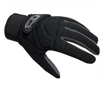 Перчатки полный палец Planet Eclipse Gauntlet Paintball Gloves - Black
